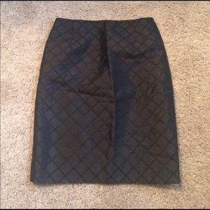 Kay Unger Black Skirt. Like New.